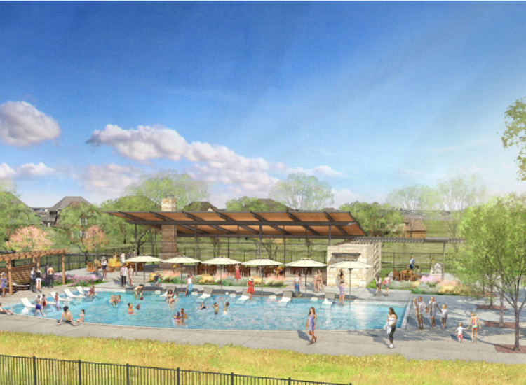 master-planned amenities in Ventana Fort Worth