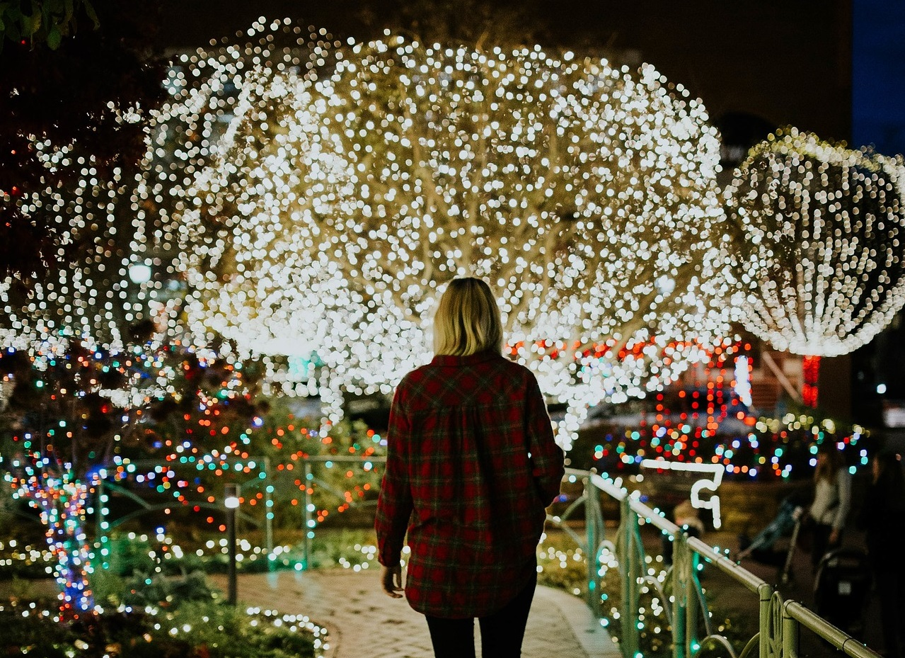 christmas time is officially here there are several fort worth venues decorated with beautiful christmas light displays throughout december - Beautiful Christmas Lights