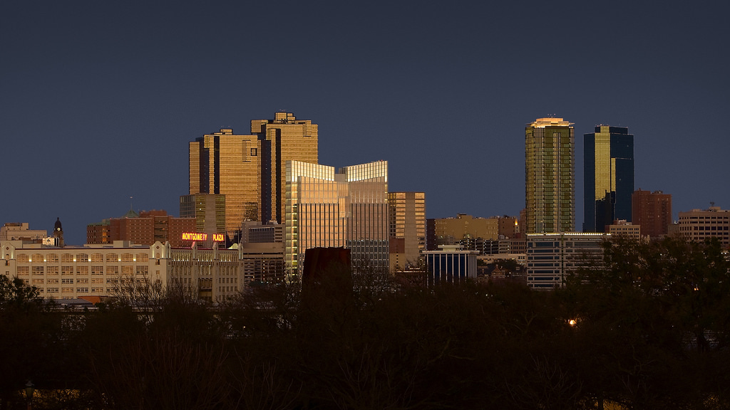 Fort Worth Skyline Source David/Flicker