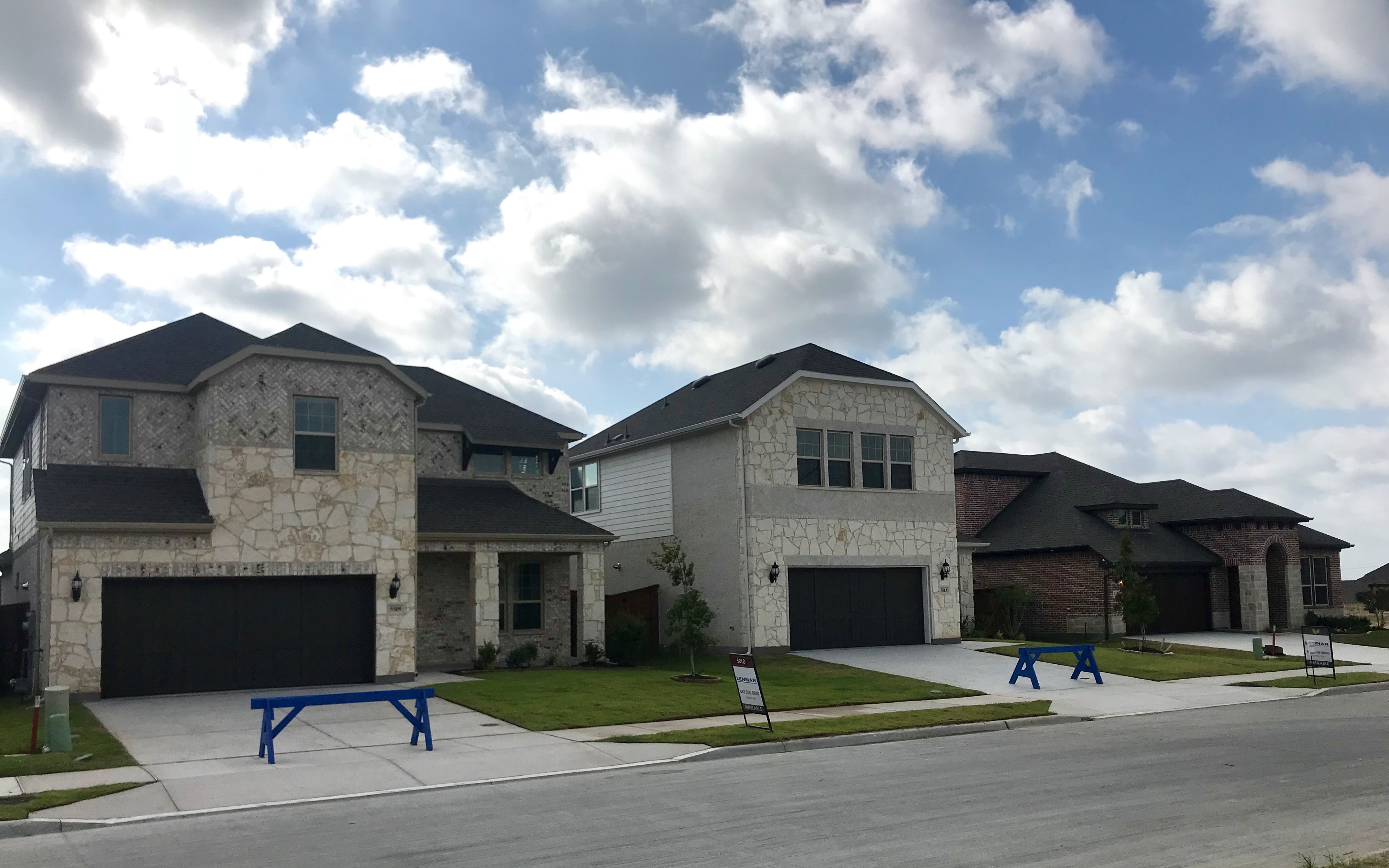 New homes in Fort Worth in Ventana