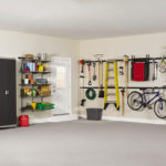 Garage Organization courtesy Rubbermaid