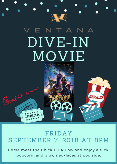 Dive-In Movie at Ventana