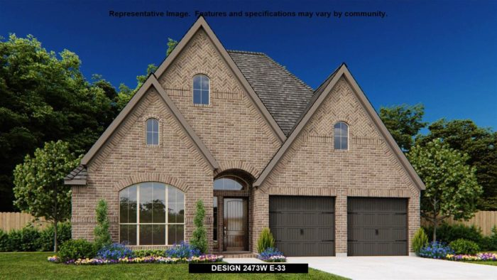 new home in Fort Worth Perry Homes