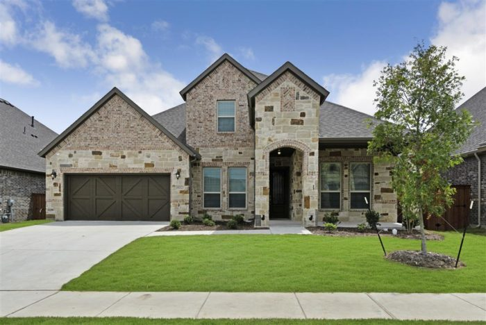 New Fort Worth Home Trendmaker homes