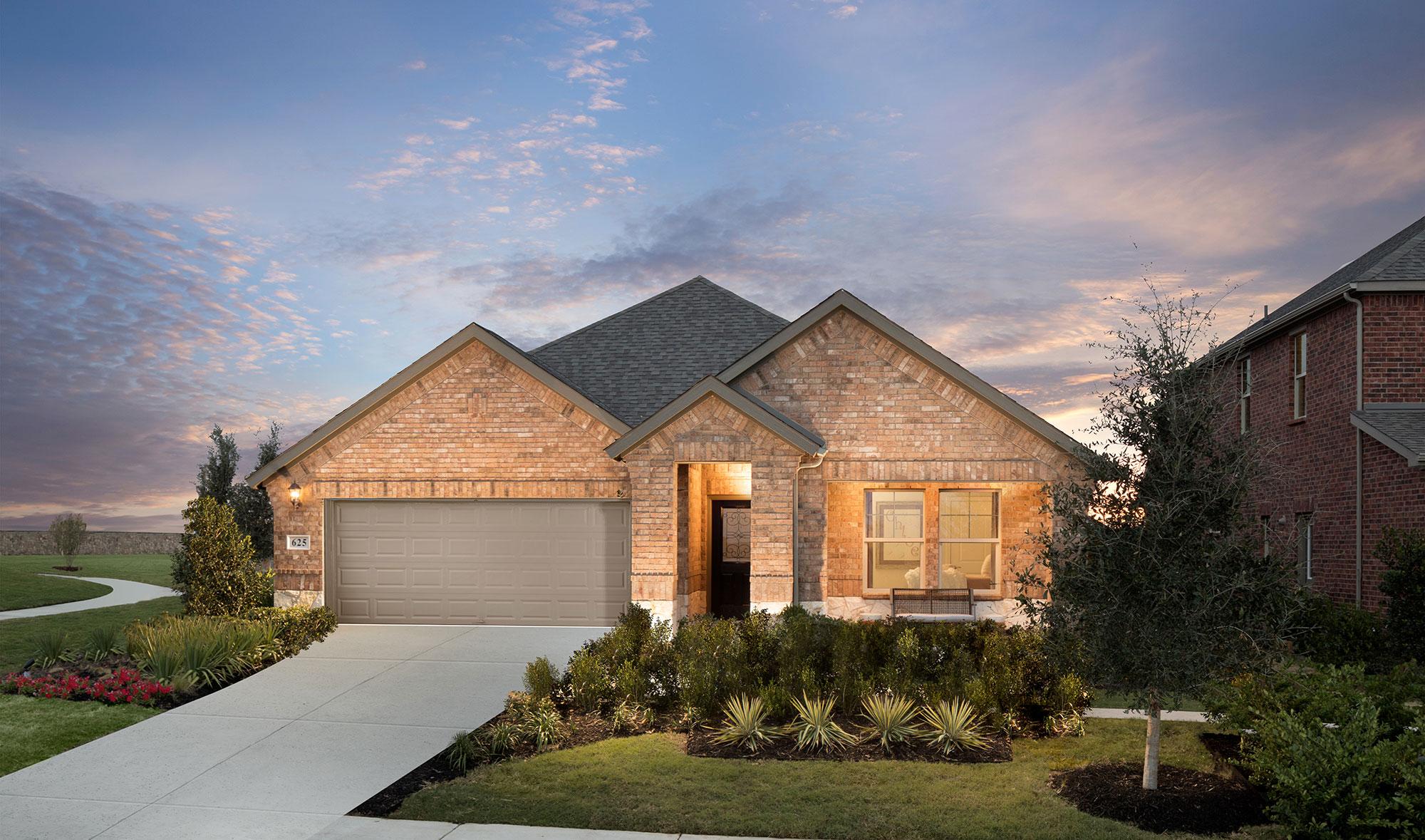 Meritage Homes in Ventana Fort Worth